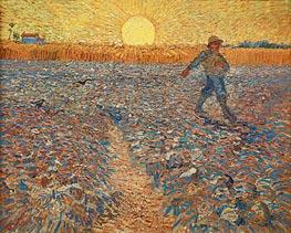 Vincent van Gogh | The Sower, 1888 | Giclée Canvas Print