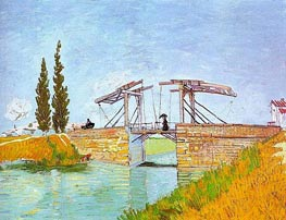 Vincent van Gogh | The Langlois Bridge at Arles | Giclée Canvas Print