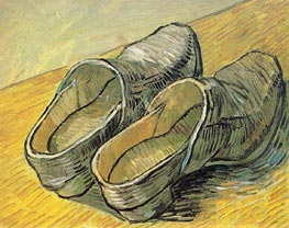 Vincent van Gogh | A Pair of Leather Clogs | Giclée Canvas Print