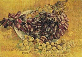 Vincent van Gogh | Still Life with Grapes, 1887 | Giclée Canvas Print