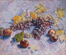 Vincent van Gogh | Still Life with Grapes, Apples, Pears and Lemons, Autumn 188 | Giclée Canvas Print