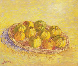 Vincent van Gogh | Still Life with Basket of Apples, 1887 | Giclée Canvas Print