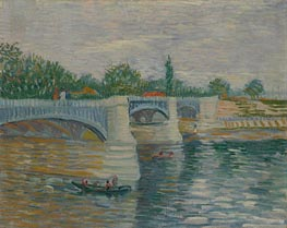 Vincent van Gogh | The Seine with the Pont de Clichy | Giclée Canvas Print