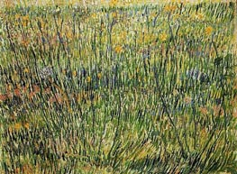 Vincent van Gogh | Pasture in Bloom, 1887 | Giclée Canvas Print