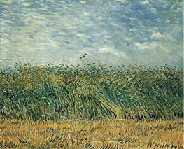Vincent van Gogh | Wheat Field with a Lark, 1887 | Giclée Canvas Print