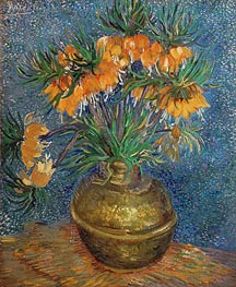 Vincent van Gogh | Crown Imperial Fritillaries in a Copper Vase, 1886 | Giclée Canvas Print