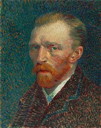 Vincent van Gogh | Self-Portrait, 1887 | Giclée Canvas Print