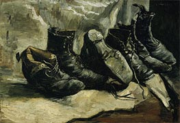 Vincent van Gogh | Three Pair of Shoes | Giclée Canvas Print