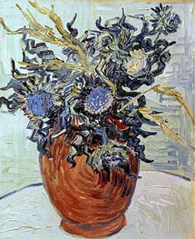 Vincent van Gogh | Still Life with Thistles | Giclée Canvas Print