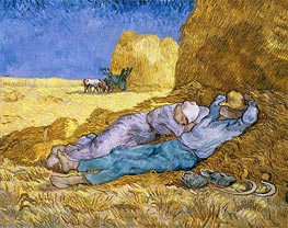 Vincent van Gogh | Noon (Rest from Work), 1890 | Giclée Canvas Print