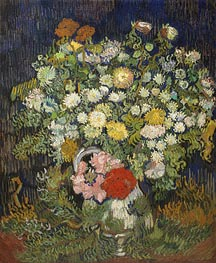 Vincent van Gogh | Bouquet of Flowers in a Vase | Giclée Canvas Print