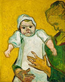 Vincent van Gogh | Madame Roulin and Her Baby, 1888 | Giclée Canvas Print