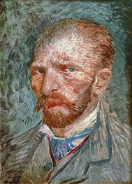 Vincent van Gogh | Self Portrait, 1887 | Giclée Canvas Print