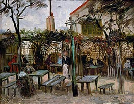 Vincent van Gogh | Pleasure Gardens at Montmartre, 1886 | Giclée Canvas Print