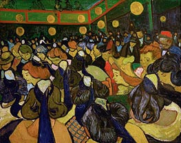 Vincent van Gogh | The Dance Hall at Arles (Ball in Arles), 1888 | Giclée Canvas Print