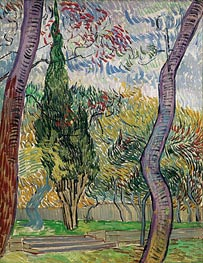 Vincent van Gogh | Park of the Saint-Paul Hospital | Giclée Canvas Print