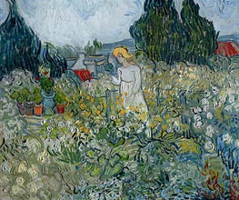 Vincent van Gogh | Marguerite Gachet in the Garden at Auvers-sur-Oise, 1890 | Giclée Canvas Print