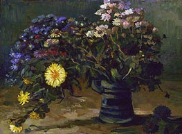Vincent van Gogh | Still Life with a Bouquet of Daisies, 1886 | Giclée Canvas Print