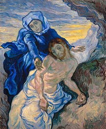 Vincent van Gogh | Pieta (after Delacroix) | Giclée Canvas Print