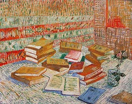 Vincent van Gogh | The Yellow Books (Parisian Novels), 1887 | Giclée Canvas Print
