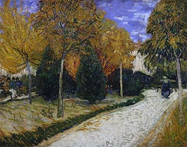 Vincent van Gogh | Path in the Park at Arles | Giclée Canvas Print