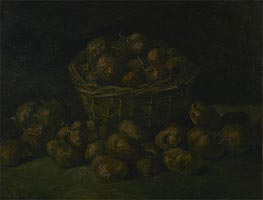 Vincent van Gogh | Basket of Potatoes | Giclée Canvas Print