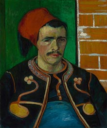 Vincent van Gogh | The Zouave | Giclée Canvas Print