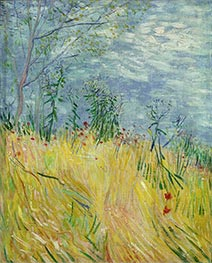 Vincent van Gogh | Edge of Wheat Field with Poppies | Giclée Canvas Print