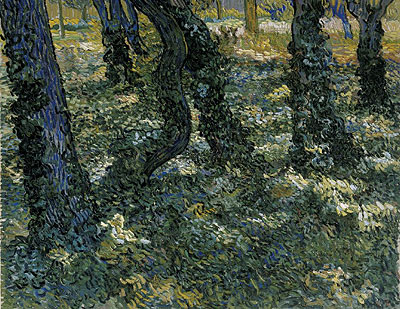 Undergrowth, 1889 | Vincent van Gogh | Giclée Canvas Print