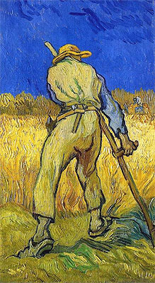 Vincent van Gogh | The Reaper (after Millett), 1889 | Giclée Canvas Print