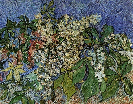 Blossoming Chestnut Branches, 1890 | Vincent van Gogh | Giclée Canvas Print