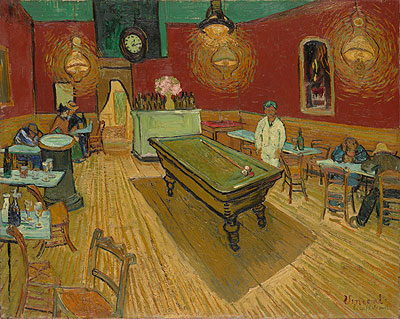 The Night Cafe in the Place Lamartine in Arles, 1888 | Vincent van Gogh | Giclée Canvas Print