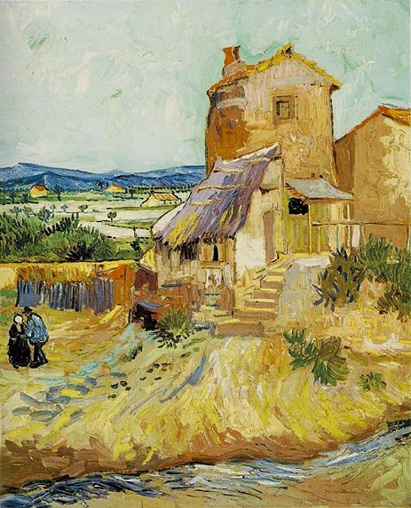 The Old Mill, 1888 | Vincent van Gogh | Painting Reproduction