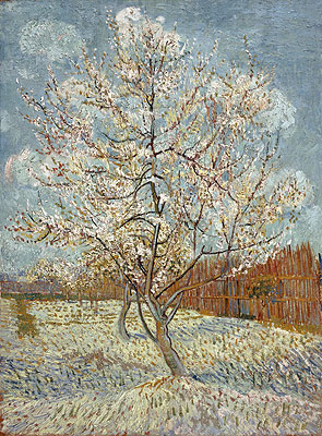 Peach Tree in Blossom, April-May | Vincent van Gogh | Giclée Canvas Print