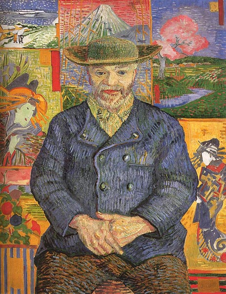 Portrait of Pere Tanguy, 1887 | Vincent van Gogh | Giclée Canvas Print