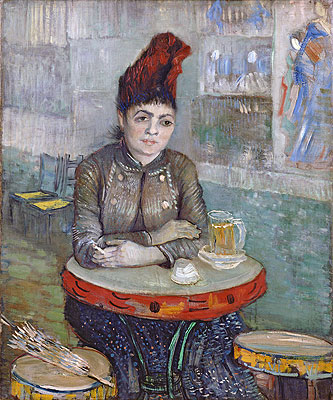 Vincent van Gogh | Agostina Segatori Sitting in the Cafe du Tambourin, c.1887/88 | Giclée Canvas Print