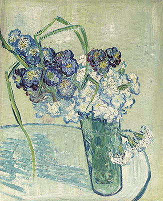 Carnations in a Vase. Auvers, 1890   Vincent van Gogh   Painting Reproduction