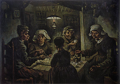 The Potato Eaters, 1885 | Vincent van Gogh | Painting Reproduction