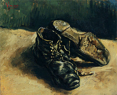 A Pair of Shoes, 1886 | Vincent van Gogh | Giclée Canvas Print