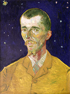 Portrait of Eugene Boch, 1888 | Vincent van Gogh | Giclée Canvas Print