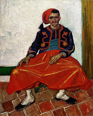 The Zouave, 1888 | Vincent van Gogh | Painting Reproduction