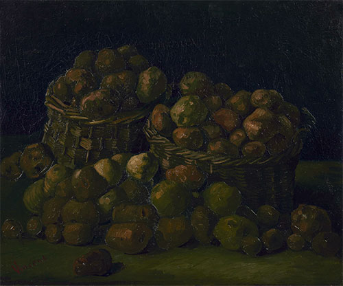 Baskets of Potatoes, 1885 | Vincent van Gogh | Giclée Canvas Print