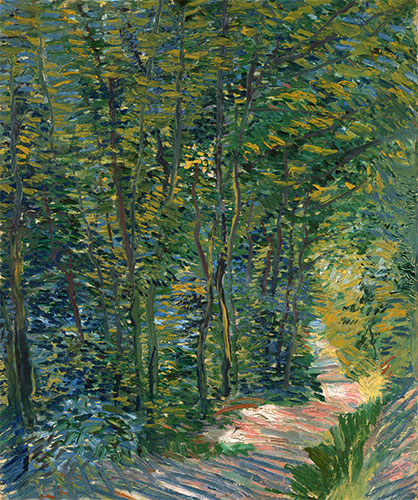 Path in the Woods, 1888 | Vincent van Gogh | Painting Reproduction