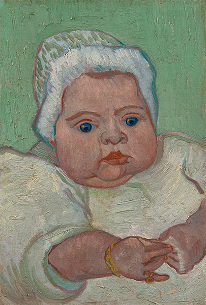 Portrait of Marcelle Roulin, 1888 | Vincent van Gogh | Giclée Canvas Print