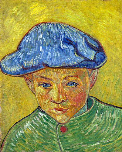 Portrait of Camille Roulin, 1888 | Vincent van Gogh | Painting Reproduction