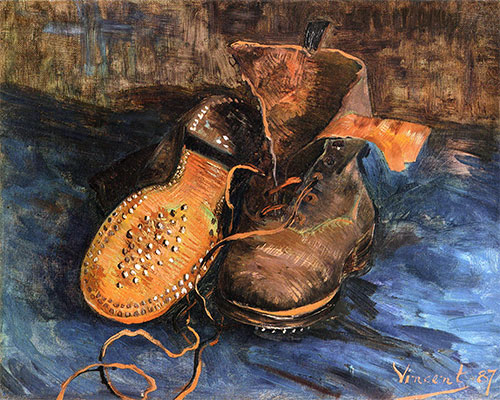 A Pair of Boots, 1887 | Vincent van Gogh | Painting Reproduction