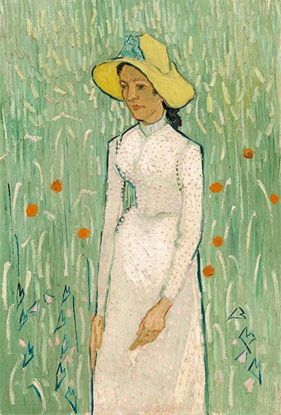 Girl in White, 1890 | Vincent van Gogh | Giclée Canvas Print