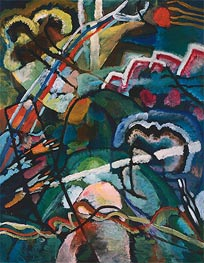 Kandinsky | Sketch I for Painting with White Border (Moscow) | Giclée Canvas Print
