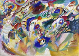 Kandinsky | Sketch 2 for Composition VII | Giclée Canvas Print