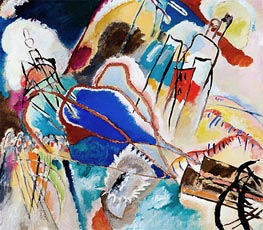 Kandinsky | Improvisation No. 30 (Cannons) | Giclée Canvas Print